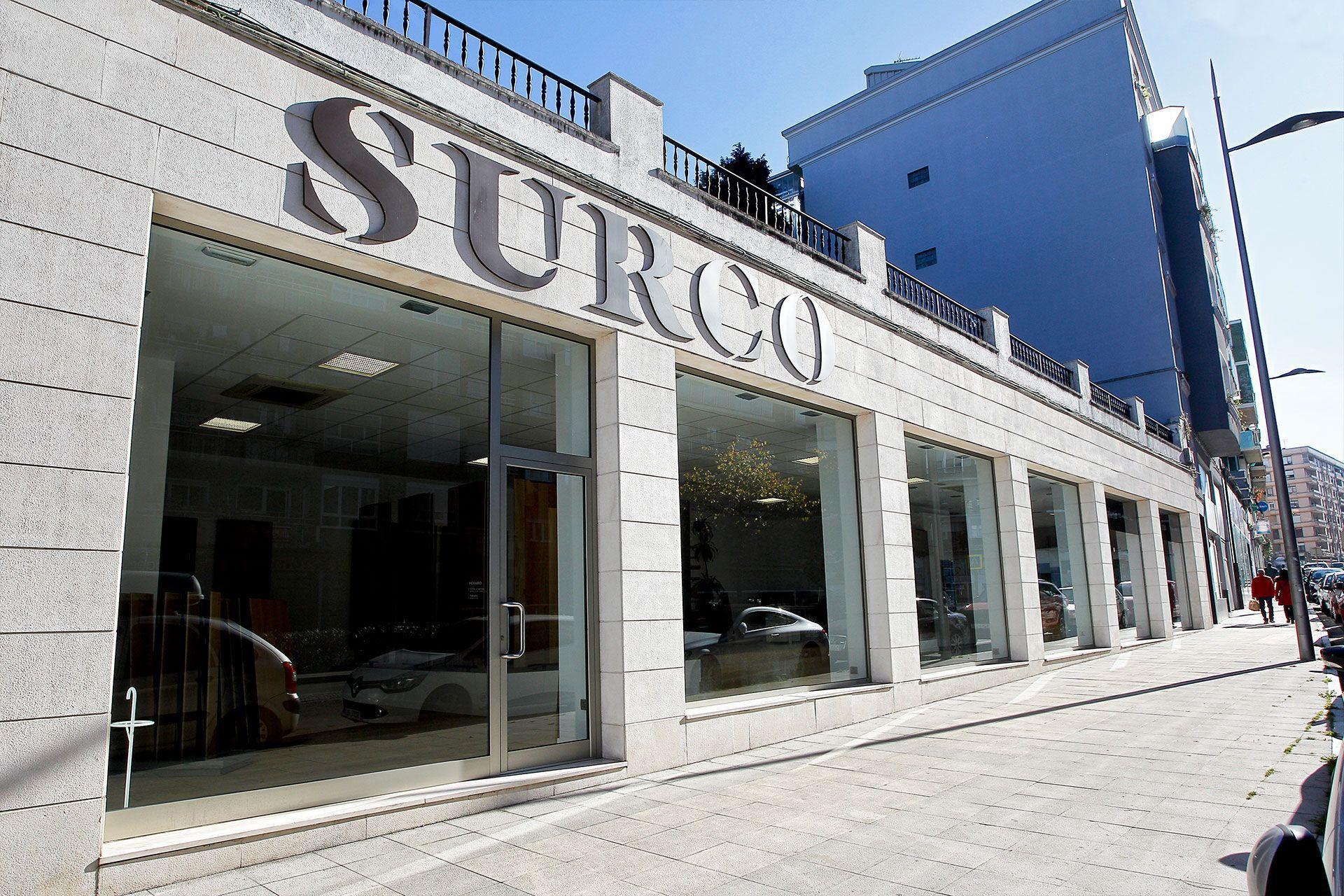 Fachada de las oficinas de SURCO en Torrelavega
