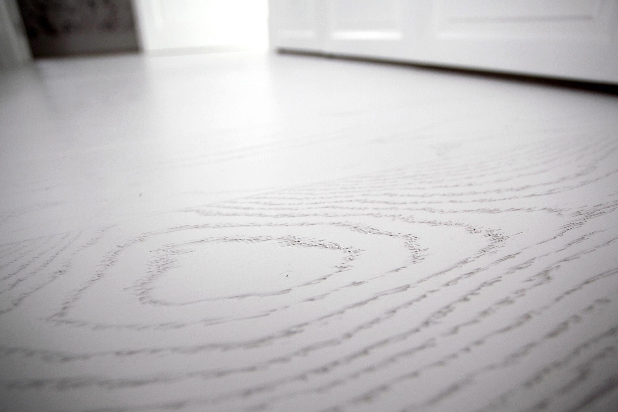 suelo madera natural lacado blanco