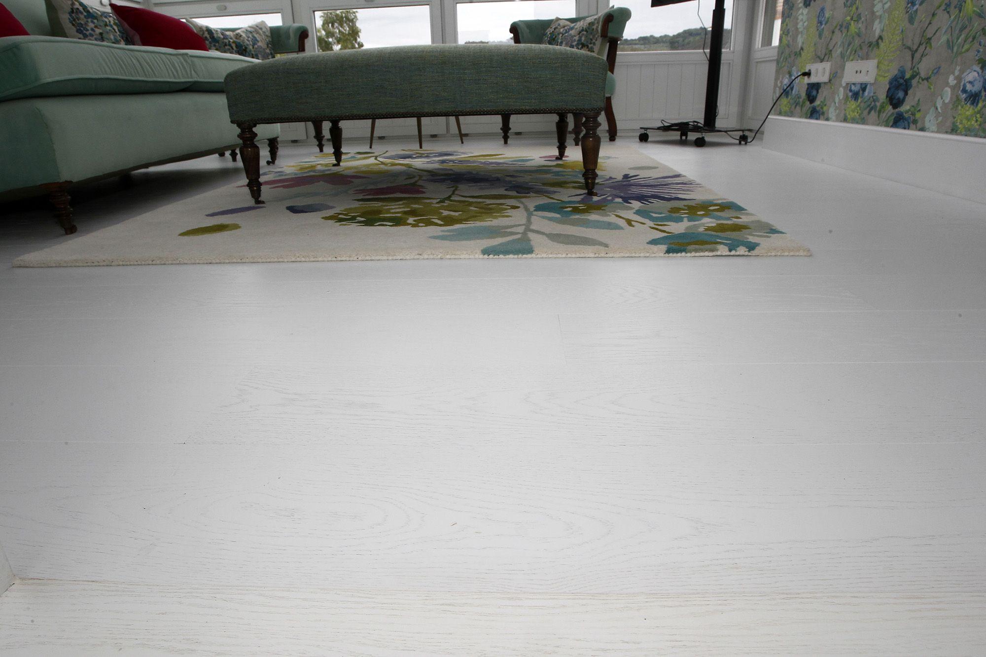 suelo surco lacado blanco