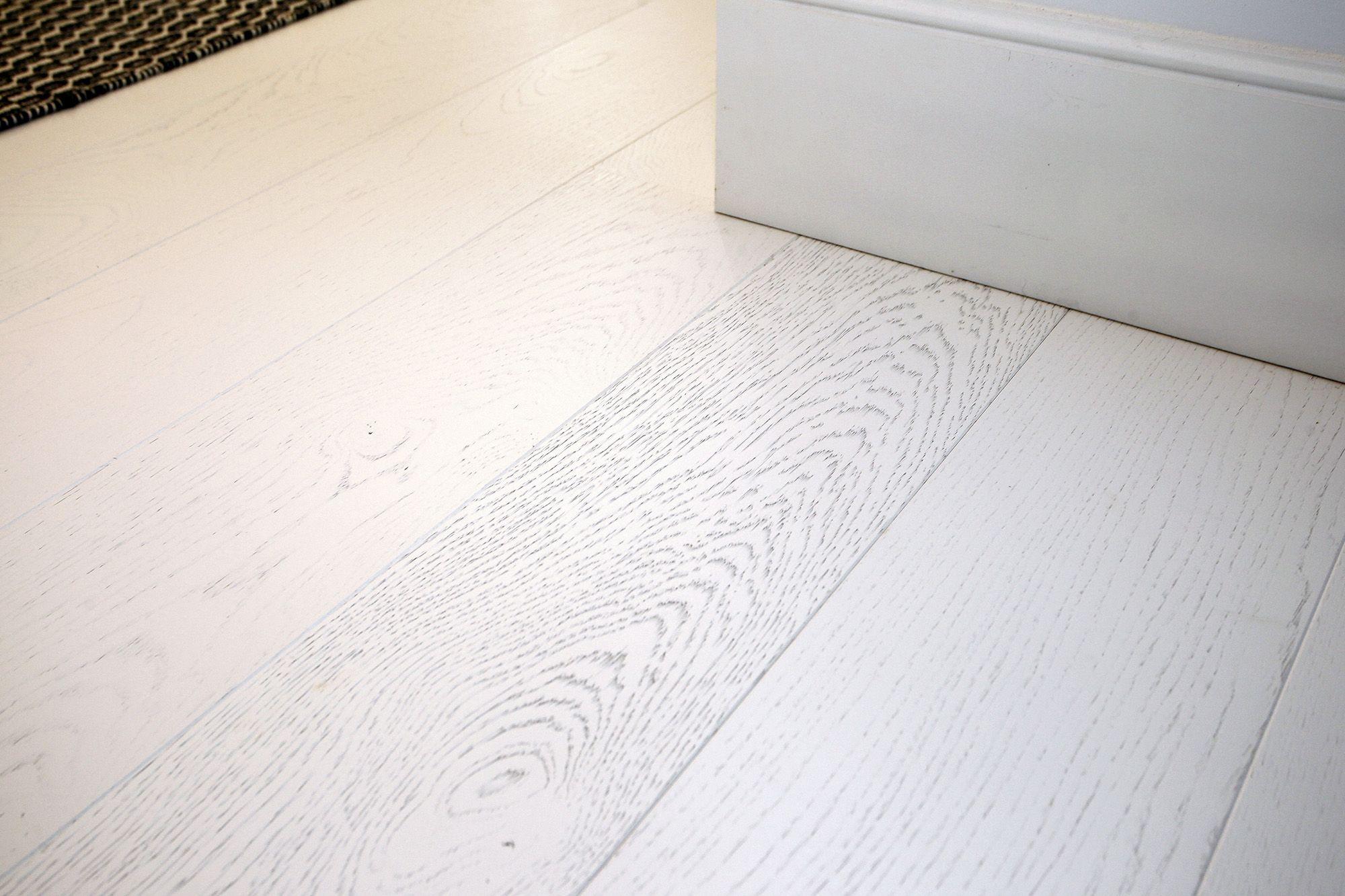 suelo surco lacado blanco madera roble