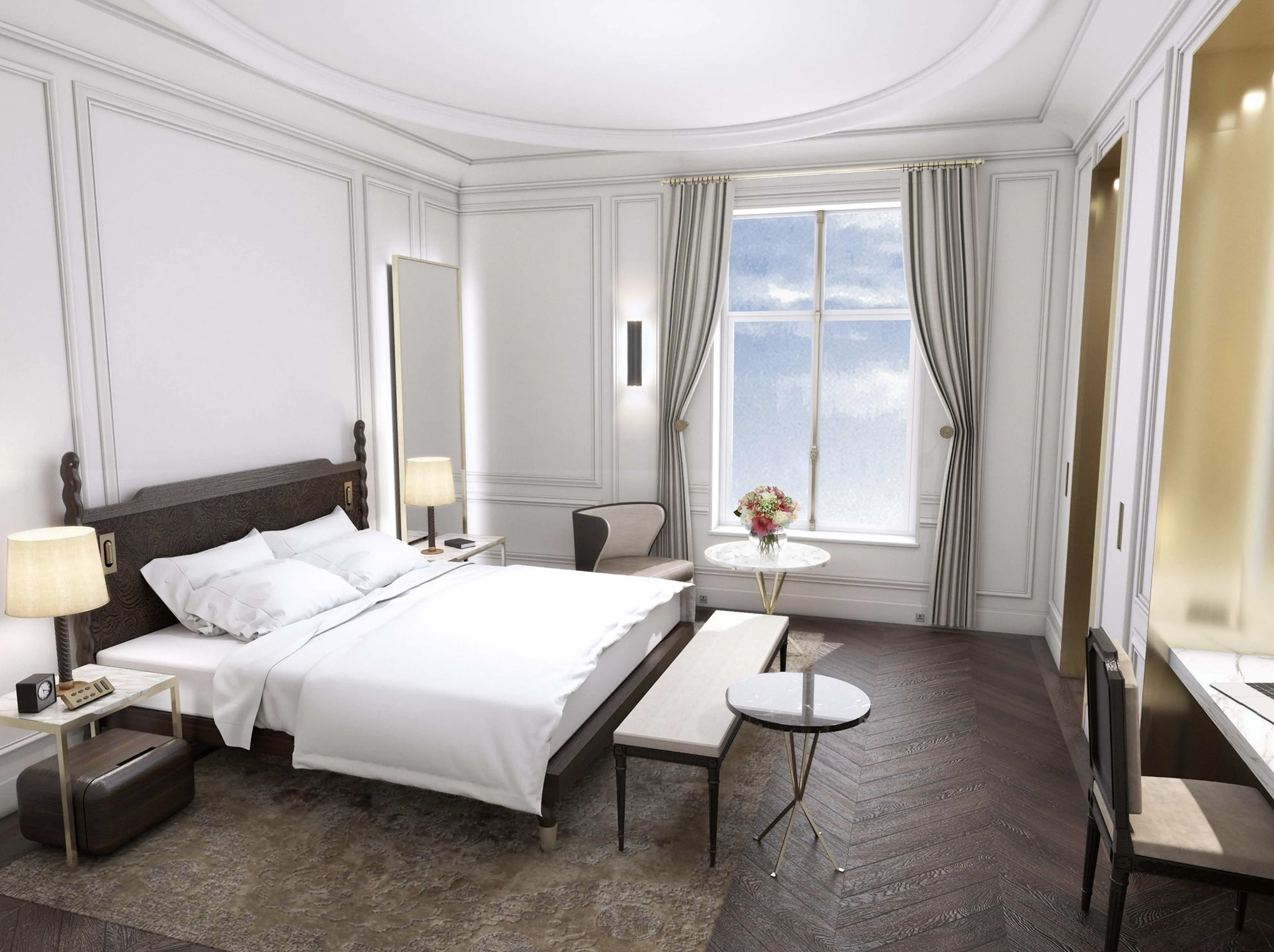 Habitación superior del Mandarin Oriental Ritz Madrid