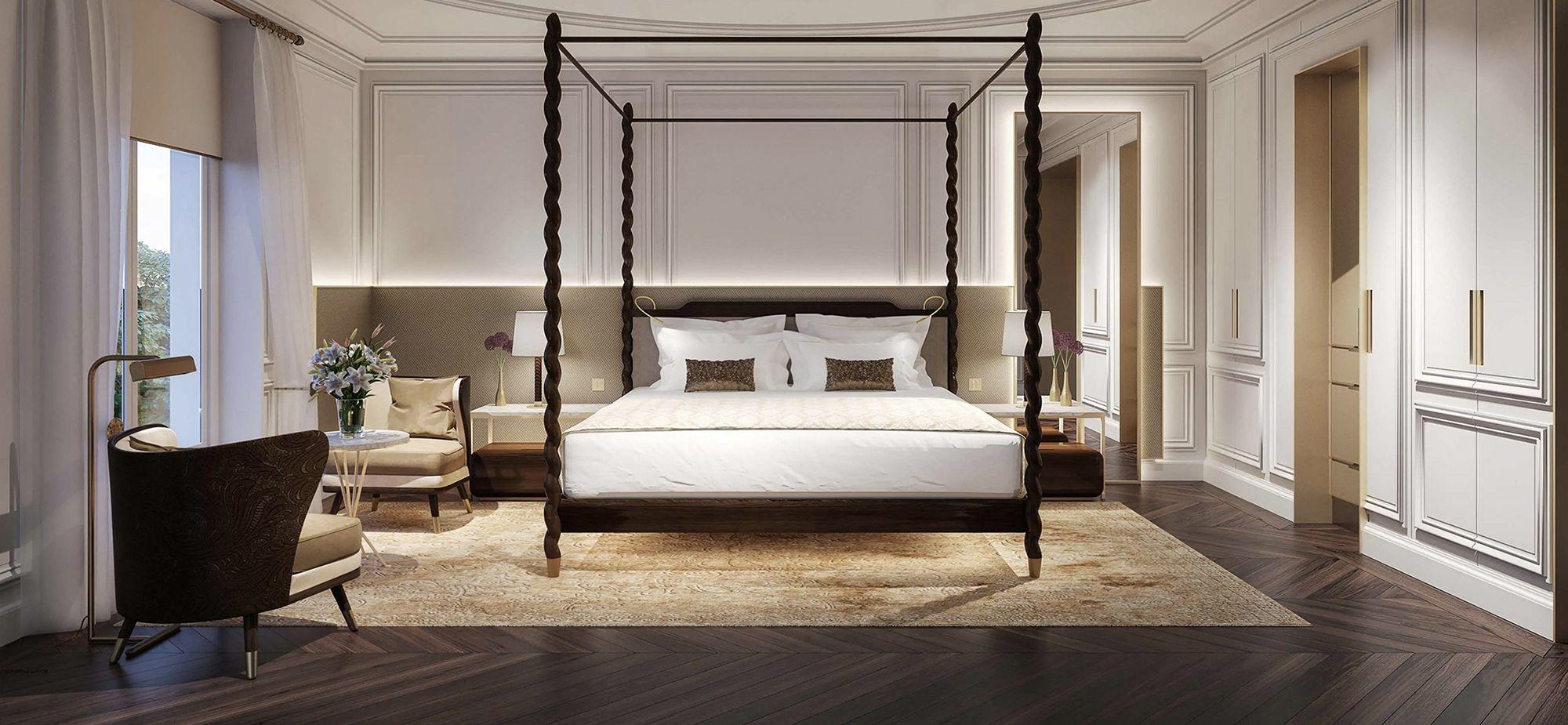 Habitación deluxe del Mandarin Oriental Ritz Madrid